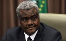 Moussa Faki Mahamat. Picture: AFP.