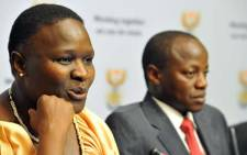 Newly appointed National Police Commissioner Mangwashi 'Riah' Phiyega. Picture: The Presidency