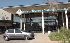 The Nelson Mandela Children's Hospital. Picture: Louise McAuliffe/EWN
