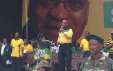 FILE: Jacob Zuma took the ANC's election campaign to the predominantly coloured area of Athlone yesterday.