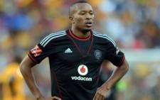 Orlando Pirates striker Lehlohonolo Majoro was injured in a car accident on Saturday. Picture: Facebook.