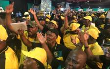 Delegates inside the main hall at the ANC's 54th national conference on 16 December 2017. Picture: Christa Eybers/EWN