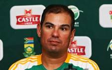New Proteas coach, Russell Domingos. Picture: Sapa.