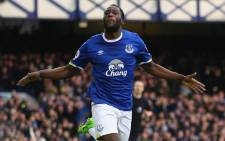 Everton's Romelu Lukaku celebrates his goal against Sunderland in the English Premier league on 25 Febraury 2017 at Goodison Park. Picture: Facebook.