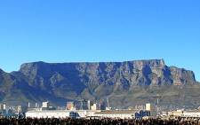 Table Mountain in Cape Town. Picture: Eyewitness News