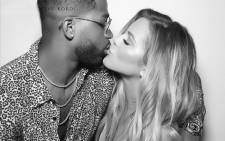 Tristan Thompson (left) Khloé Kardashian (right). Picture: @khloekardashian/Instagram