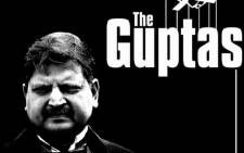 Earlier this year the Gupta family inspired a clever play on existing movie titles, this one stems from the classic mob drama 'The Godfather'. Picture: Twitter