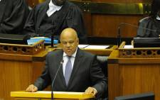 FILE: Finance Minister Pravin Gordhan delivering his national Budget speech in Parliament on 24 February 2016. Picture: GCIS.