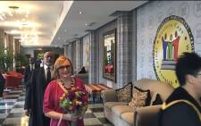 Premier Helen Zille delivered her State of the Province Address at the Western Cape Legislature on 19 February 2016. Picture: Xolani Koyana/EWN.