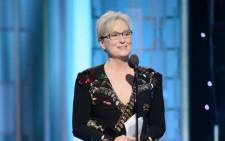 Actress Meryl Streep. Picture: @goldenglobes/Twitter.