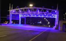 FILE: E-toll gantry in Johannesburg. Picture: EWN