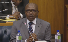 FILE: Former SABC board member Vusi Mavuso. Picture: Screengrab via Youtube.