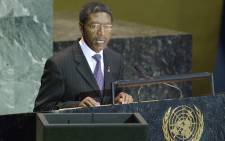 Lesotho's Prime Minister Pakalitha Mosisili. Picture: United Nations Photo.