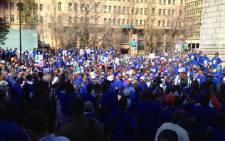 DA March. Picture: Ryno Geldenhuys/iWitness