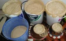 Traditional beer (Umqombothi). Picture: Winnie Theletsane/EWN.