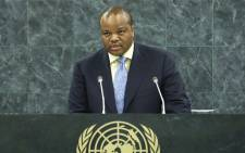 FILE: King Mswati III. Picture: United Nations Photo