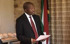 Deputy president of South Africa David Mabuza. Picture: @MYANC/Twitter