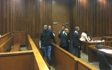 FILE: Eke Ogochukwu walks in ahead of his sentencing in the High Court in Johannesburg after being convicted for the trafficking of a 15-year-old girl in Rosettenville. Picture: Mia Lindeque/EWN.