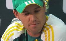 Pro20 captain AB de Villiers. Picture: Alicia Pillay/EWN
