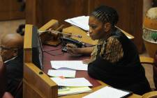The chairperson of the National Council of Provinces Thandi Modise. Picture: Sapa.