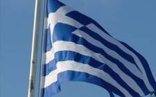 The Greek flag. Picture: Giovanna Gerbi/Eyewitness News