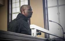 Elvis Ramosebudi in the Johannesburg magistrates court. Picture: EWN.