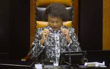 National Assembly Speaker Baleka Mbete. Picture: AFP