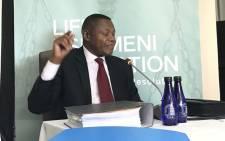Gauteng Health Department acting head of department Dr Ernest Kenoshi. Picture: Masego Rahlaga/EWN