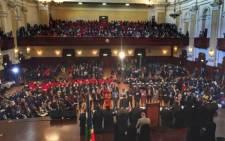 An image of the Joburg Council chamber sitting. EWN