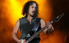 Metallica's lead guitarist Kirk Hammett. Picture: metallica.com