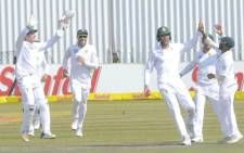 The Proteas at Senwes Park on Monday 2 October 2017 during a match against Bangladesh. Picture: @OfficialCSA