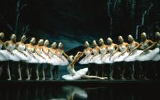 The St Petersburg Ballet in Swan Lake Act II with Irina Kolesnikova Prima Ballerina dancing Odette.  Picture: Meropa Communications.