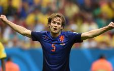 FILE: Manchester United are set to sign Dutch international Daley Blind after agreeing a fee with his current side Ajax, Manchester United announced on 30 August, 2014. Picture: AFP.