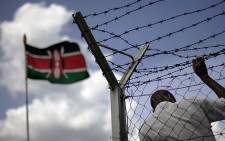 A Kenyan flag. Picture: AFP