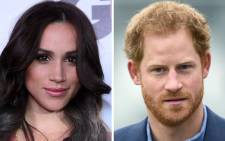 Prince Harry and Meghan Markle. Picture: AFP
