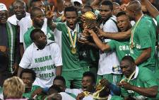 Nigeria were crowned 2013 Afcon champions after beating Burkina Faso 1-0 at the National Stadium in Johannesburg on 10 February 2013. Picture: AFP
