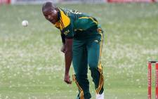 FILE: Proteas bowler Lonwabo Tsotsobe in action. Picture: Facebook.