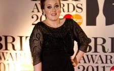 British singer Adele. AFP