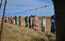 FILE: The National House of Traditional Leaders has called for provinces to postpone with the fear that cold weather conditions could affect the health of the initiates. Picture: AFP.