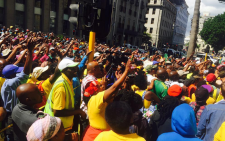 FILE: This comes after a march in the Cape Town CBD turned violent despite assurances that it wouldn't. Picture: Siyabonga Sesant/EWN
