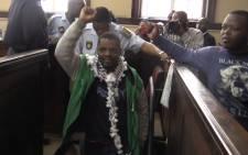 FILE: Mcebo Dlamini at the Johannesburg Magistrates Court. Picture: Kgothatso Mogale/EWN