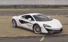 Screengrab of McLaren 570.