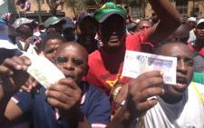 Recent wage strikes affected the Standard & Poor's decision to downgrade South Africa's foreign currency cedit rating. Picture: Taurai Maduna/Eyewitness News