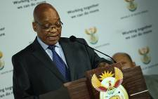 FILE: President Jacob Zuma on Sunday 1 December announced that Thembekile Kimi Makwetu is the new Auditor General. Picture: Taurai Maduna/EWN