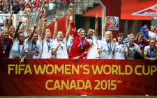 The US won the Fifa Women's World Cup for a third time on Sunday 5 July 2015 after beating Japan 5-2. Picture: AFP.