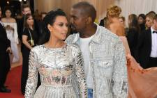 FILE: Kim Kardashian West and Kanye West at the 2016 Met Gala in New York City. Picture: AFP.