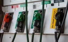Petrol pump. Picture: Michelle Lubbe/EWN