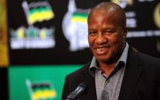 ANC MP Jackson Mthembu was shot in the cheek while withdrawing money from an ATM machine. Picture: Werner Beukes/SAPA
