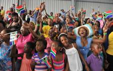 FILE: People celebrate Human Rights Day in Mbekweni township near Paarl in the Western Cape, Thursday, 21 March 2013. President Jacob Zuma attended the Human Rights Day commemoration. Picture: GCIS/SAPA.