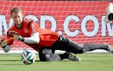 German goalkeeper Manuel Neuer. Picture: Facebook.com